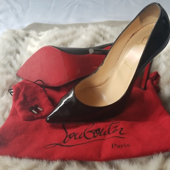 ad8bebcb1a2 Christian Louboutin Pigalle 120 Black Euro Size 42